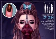 Skin Zip Halloween October 2014 Group Gift by AtiK - Teleport Hub - teleporthub.com