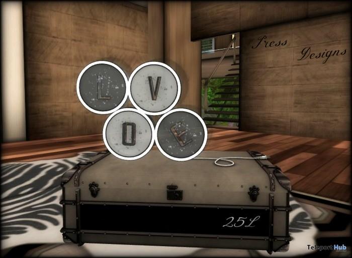 Mesh Love Animated Lamp by 10 4 Mesh - Teleport Hub - teleporthub.com