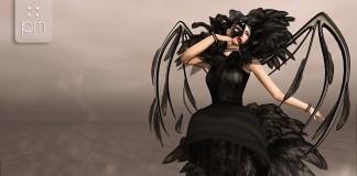 Poe Dress Black Group Gift by PurpleMoon - Teleport Hub - teleporthub.com