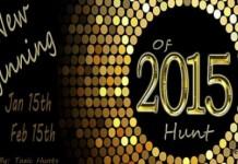 New Beginning Of 2015 Hunt - Teleport Hub - teleporthub.com