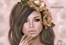 Ellie Medium 01 Eyebrow B Skin Group Gift by Sugarush - Teleport Hub - teleporthub.com