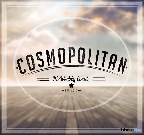 Cosmopolitan Bi-weekly Event - Teleport Hub - teleporthub.com