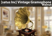 New Release: Vintage Gramophone by [satus Inc] - Teleport Hub - teleporthub.com