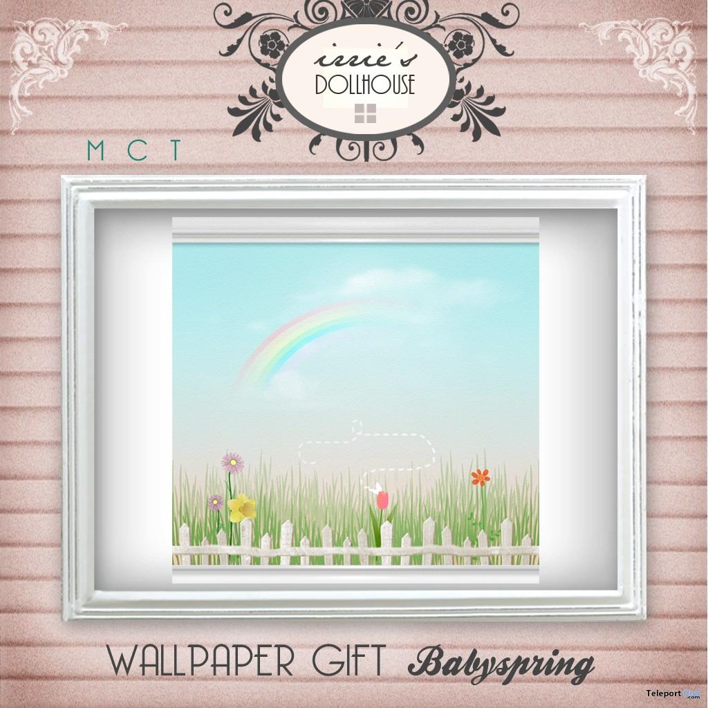 Babyspring Wallpaper by irrie's Dollhouse - Teleport Hub - teleporthub.com