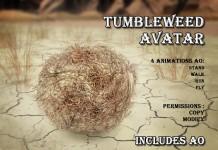 Tumbleweed Complete Avatar by GCO - Teleport Hub - teleporthub.com