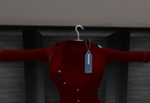 Jenna Red Shirt Group Gift by Sentinus - Teleport Hub - teleporthub.com