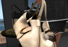 Siamese Kitty Leather Handbag Group Gift by Bipolar Kitty - Teleport Hub - teleporthub.com