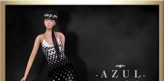 Polka Dots Dress May 2015 Group Gift by -AZUL- - Teleport Hub - teleporthub.com