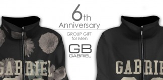 Zipped Up Hoodie for Men 6th Anniversary Group Gift by GABRIEL - Teleport Hub - teleporthub.com
