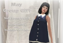 Suki Tunic Dress May 2015 Group Gift by FA CREATIONS - Teleport Hub - teleporthub.com