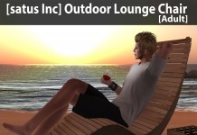 New Release: Outdoor Lounge Chair (Adult & PG) by [satus Inc] - Teleport Hub - teleporthub.com