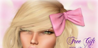 Adorable Bow by Apple May Designs - Teleport Hub - teleporthub.com