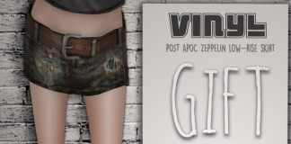 Zeppelin Skirt Group Gift by Vinyl - Teleport Hub - teleporthub.com