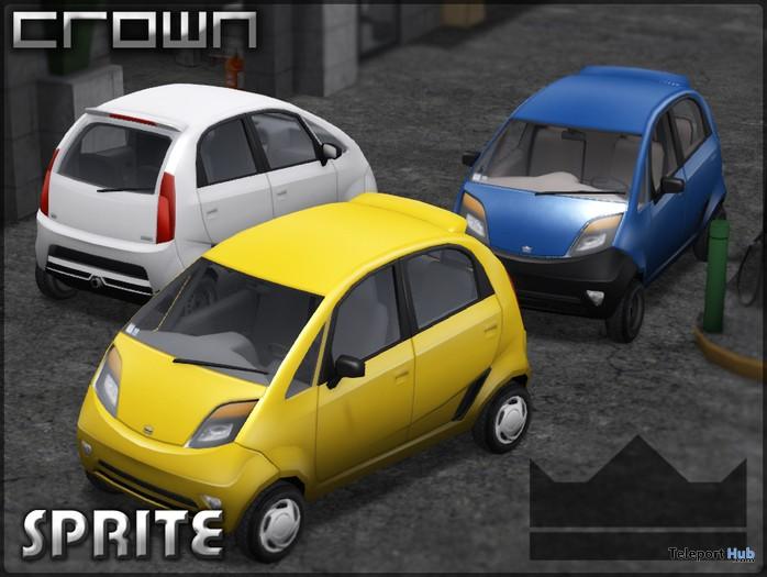 Crown Sprite Economy Car by Crown Automotive Group - Teleport Hub - teleporthub.com