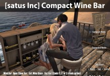 New Release: Compact Wine Bar by [satus Inc]