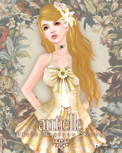 Marin Magique Sunny Sailor Dress by antielle