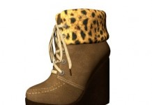 Wedge Ankle Mesh Boots Light Brown 1L Promo by BusenuR SHOP - Teleport Hub - teleporthub.com
