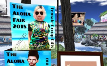 The Aloha Fair 2015 TShirt Group Gift by Gypsy Chic - Teleport Hub - teleporthub.com