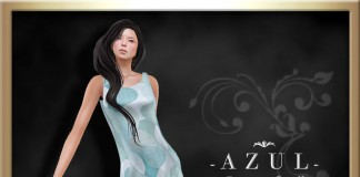 Sky Blue Dress Group Gift by -AZUL- - Teleport Hub - teleporthub.com