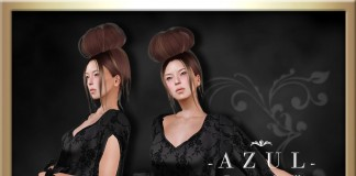 Black Short Dress Group Gift by -AZUL- - Teleport Hub - teleporthub.com