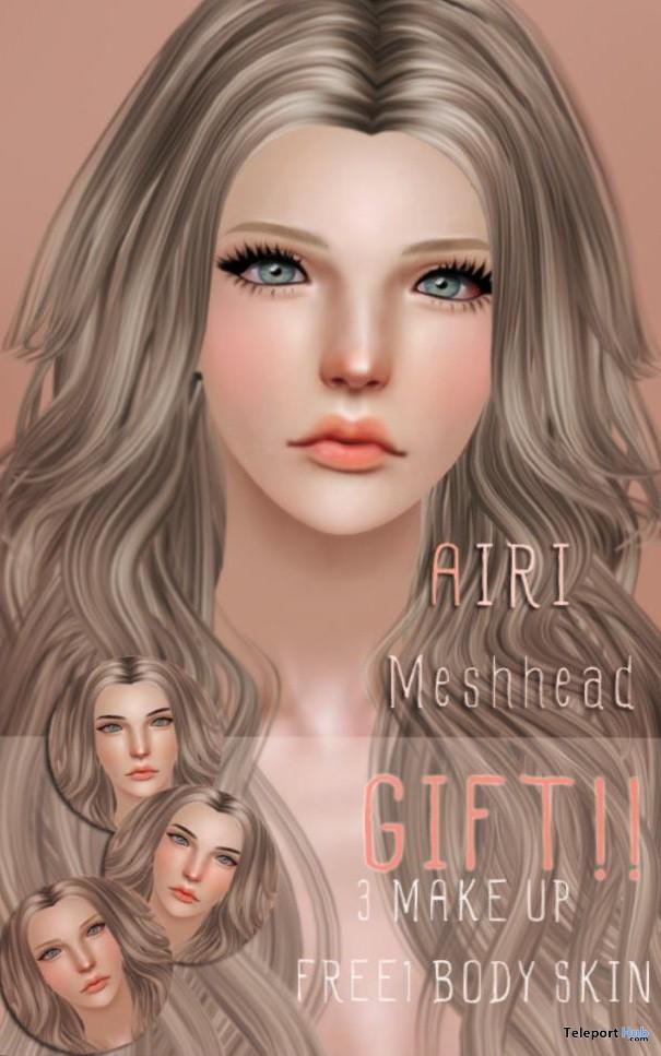 AIRI Mesh Head by Boataom - Teleport Hub - teleporthub.com