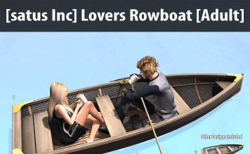 New Release: Lovers Rowboat [Adult] & [PG] by [satus Inc] - Teleport Hub - teleporthub.com