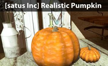 New Release: Realistic Pumpkin by [satus Inc] - Teleport Hub - teleporthub.com