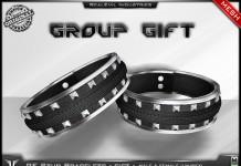 Stud Leather Bracelets Gift by RealEvil Industries - Teleport Hub - teleporthub.com