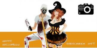 Halloween Pose Subscriber Gift by Joplino - Teleport Hub - teleporthub.com