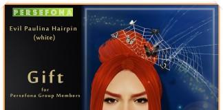 Evil Paulina Hairpin Group Gift by Persefona - Teleport Hub - teleporthub.com