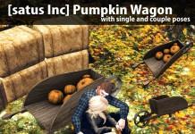 New Release: Pumpkin Wagon by [satus Inc] - Teleport Hub - teleporthub.com