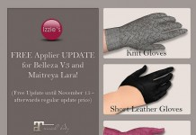 3 Types of Gloves Appliers for Belleza and Maitreya Limited Time Gift by Izzie's - Teleport Hub - teleporthub.com