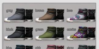 Kiki Sneakers November 2015 Gacha Group Gift by Pure Poison - Teleport Hub - teleporthub.com