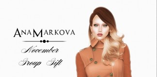 Vella Coatdress Autumn November 2015 Group Gift by AnaMarkova - Teleport Hub - teleporthub.com