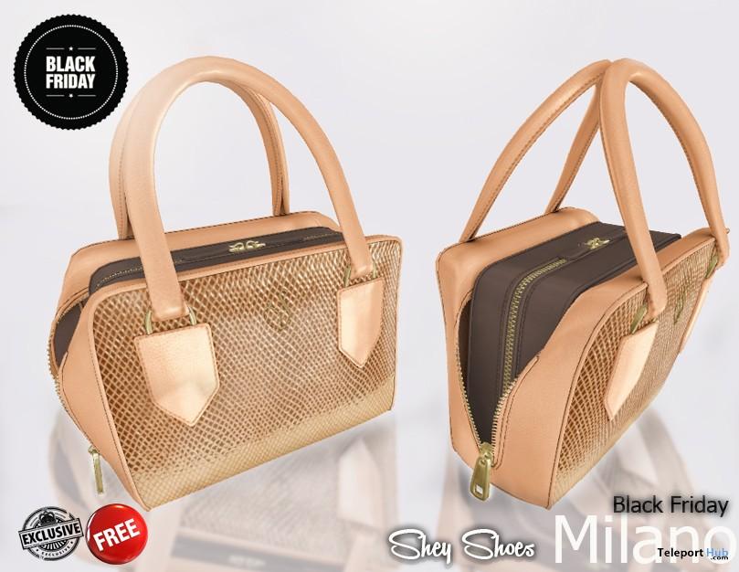 Milano Bag Black Friday Group Gift by SHEY - Teleport Hub - teleporthub.com