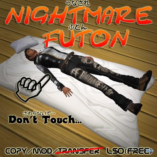 Nightmare Futon by Kabuki - Teleport Hub - teleporthub.com