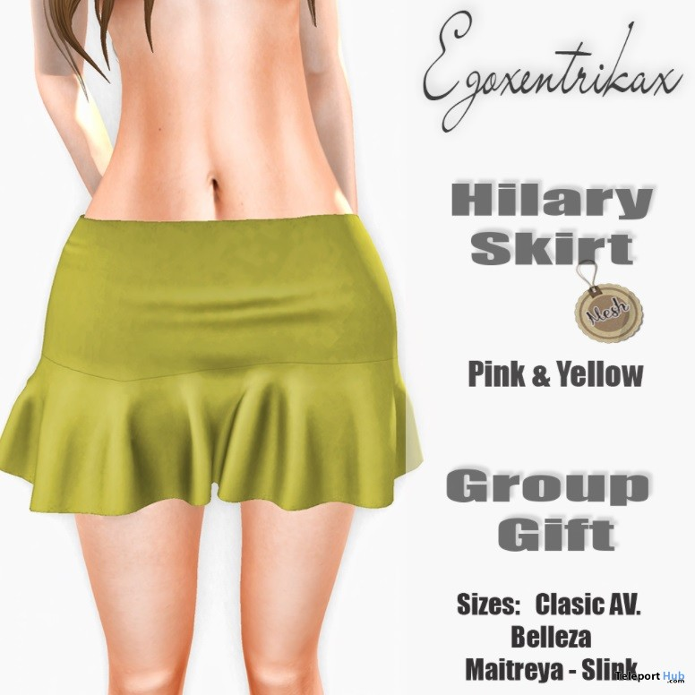 Hilary Skirt November 2015 Group Gift by Egoxentrikax - Teleport Hub - teleporthub.com