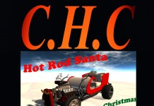 Santa Hot Rod Gift by C.H.C - Teleport Hub - teleporthub.com