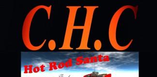 Santa Hot Rod Gift by C.H.C - Teleport Hub - teleporthub.com