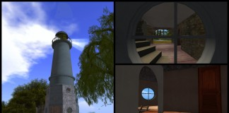 Leo's Lighthouse Christmas Promo by Celestics - Teleport Hub - teleporthub.com