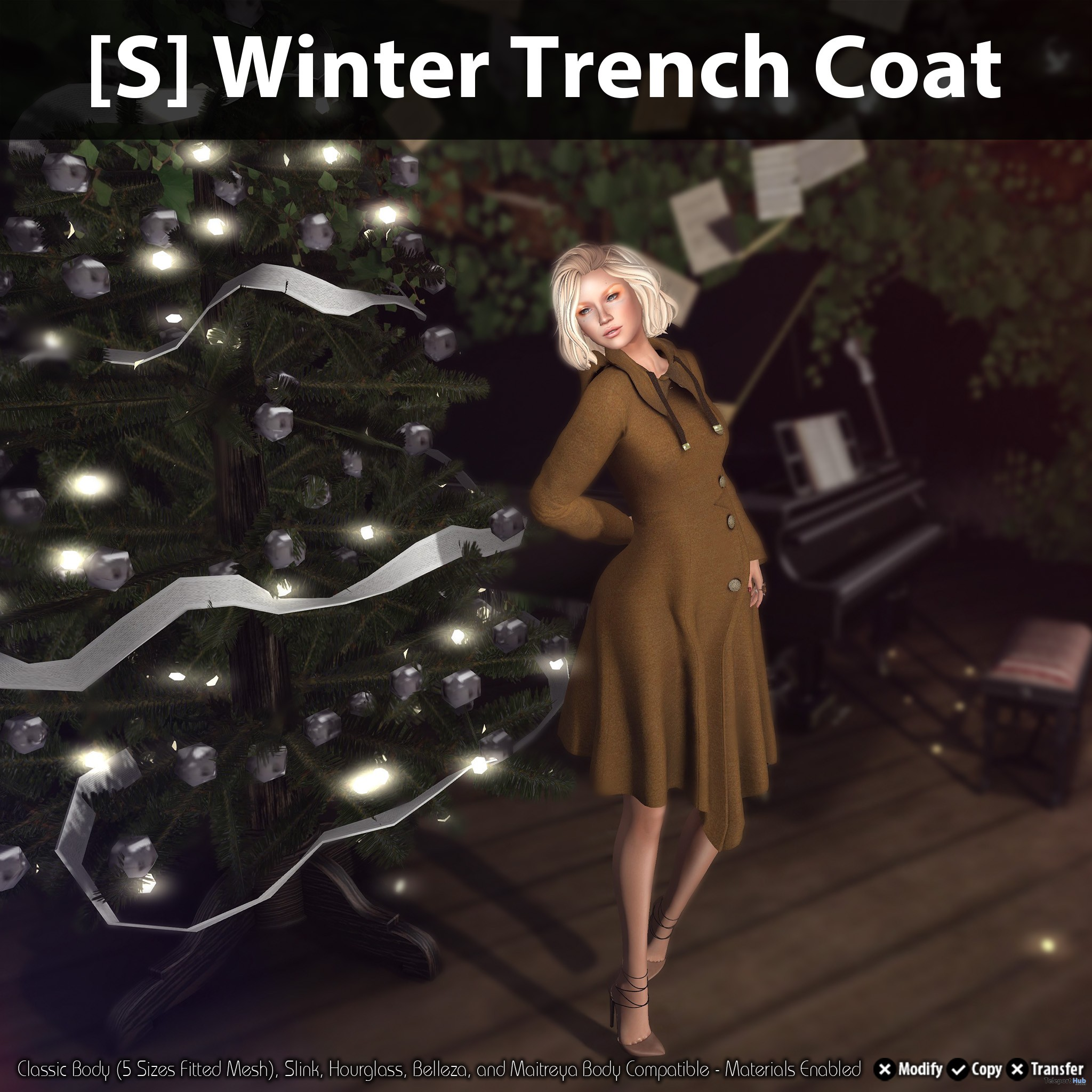 [S] Winter Trench Coat Teleport Hub Group Gift by [satus Inc] - Teleport Hub - teleporthub.com