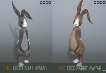COCO Rabbit Avatar Gift by COCO Designs - Teleport Hub - teleporthub.com