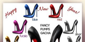 Fancy Pumps January 2016 Gacha Group Gift by Pure Poison - Teleport Hub - teleporthub.com