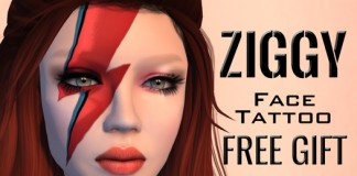 Ziggy Face Tattoo Gift by Avanti - Teleport Hub - teleporthub.com