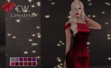 Shinya Valentine Gown Group Gift by Celestinas Wedding - Teleport Hub - teleporthub.com