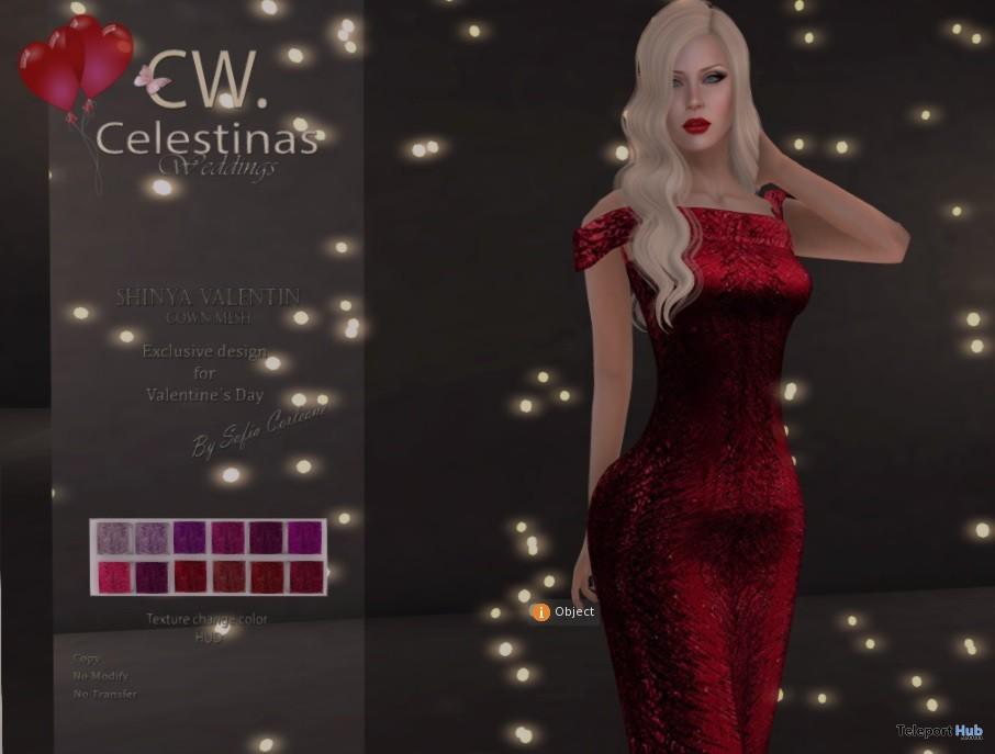 Shinya Valentine Gown Group Gift by Celestinas Wedding - Teleport Hub - teleporthub.com