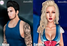 Nolan and Gardner Hair Group Gifts by Damselfly - Teleport Hub - teleporthub.com