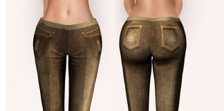 Brown Pants January 2016 Group Gift by AtiK - Teleport Hub - teleporthub.com