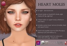 Heart Moles With Appliers Gift by Izzie's - Teleport Hub - teleporthub.com
