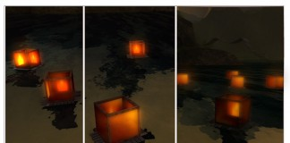 Floating Lantern February 2016 Group Gift by Ariskea - Teleport Hub - teleporthub.com